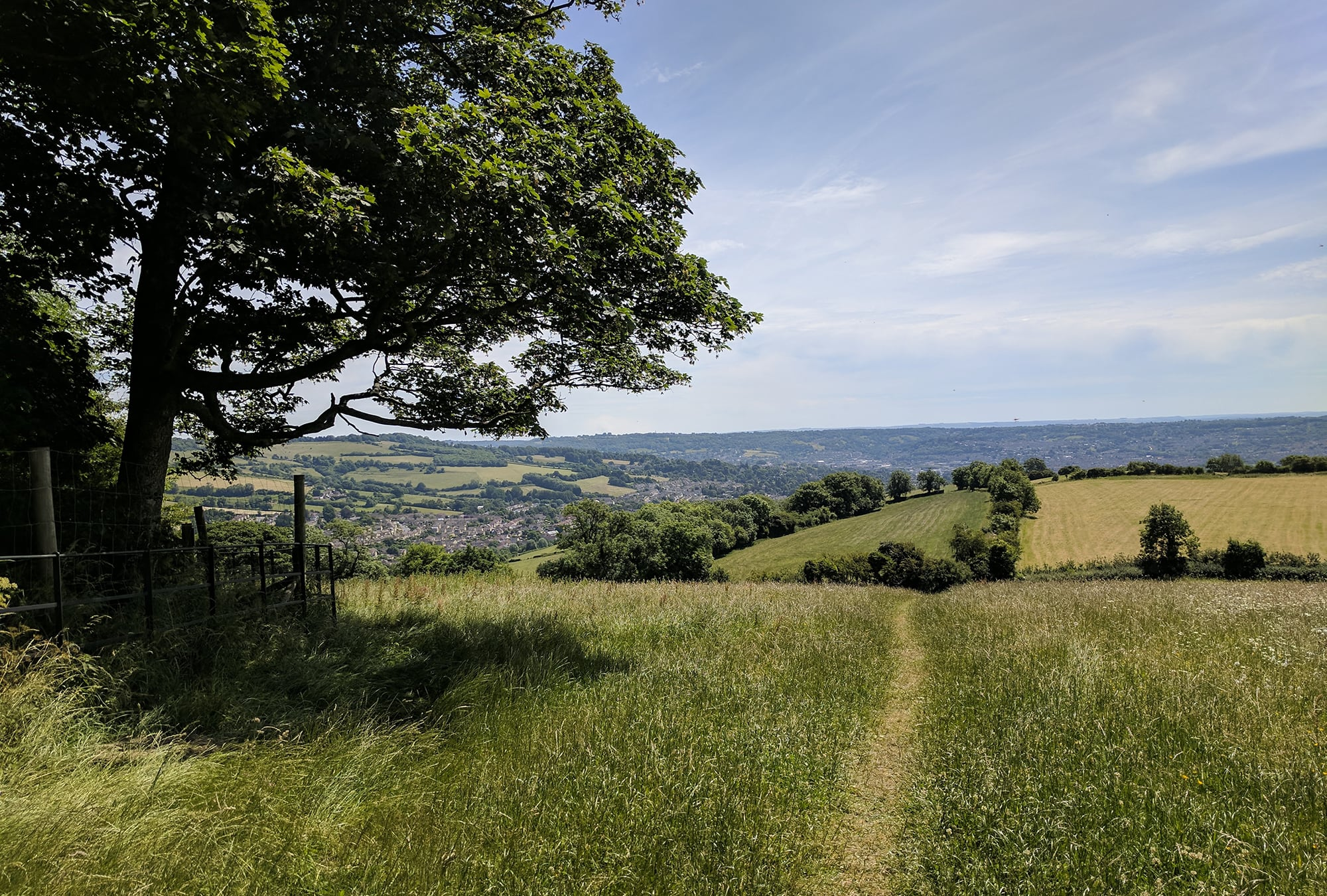 Stay at Dukes Bath and explore the amazing walks around the city and the surrounding countryside